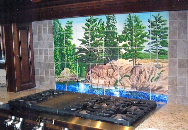 One Of A Kind Custom Ceramic Tile Mural Projects Featured